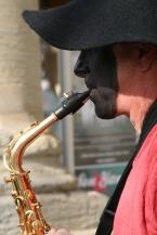 Derek - saxophone, tin whistle